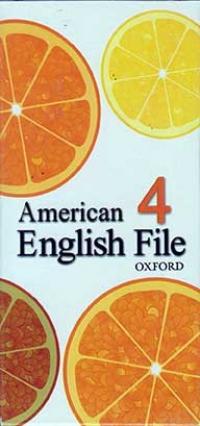 American English File 4 flash card*